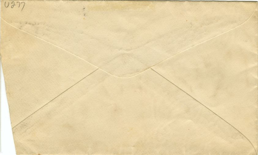 envelope back